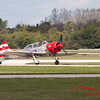 478 - Team Aerostar in Yakovlev Yak-52's perform at Wings over Waukegan 2012
