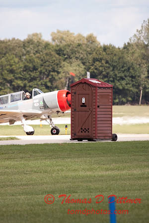 """480 - Paul Stender and the Indy Boys Mobile Out House bring new meaning to """"Hot Gas"""" at Wings over Waukegan 2012"""