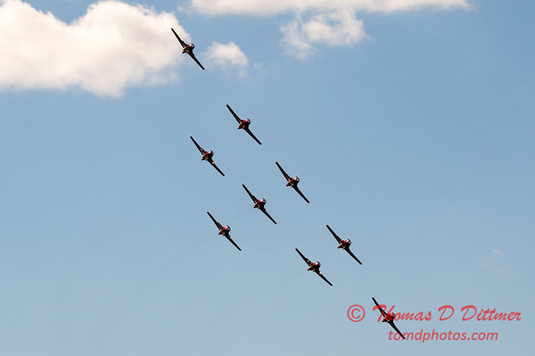 1715 - The RCAF Snowbirds performance at Wings over Waukegan 2012