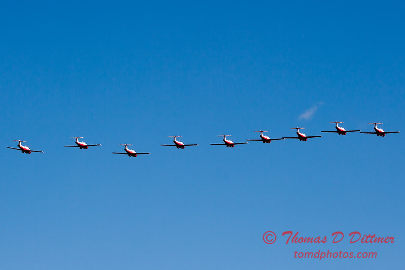 1770 - The RCAF Snowbirds performance at Wings over Waukegan 2012