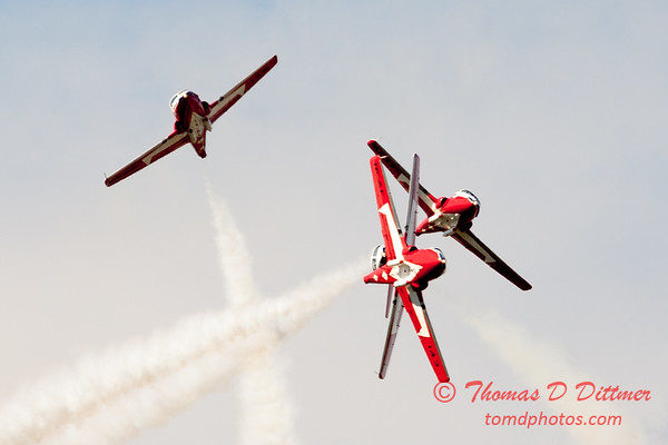 1440 - The RCAF Snowbirds performance at Wings over Waukegan 2012