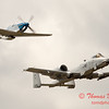 """787 - Vlado Lenoch in his P-51 Mustang and A-10 East in the """"Heritage Flight"""" at Wings over Waukegan 2012"""