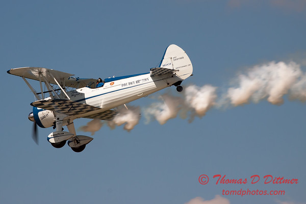 137 - Dave Dacy in his Boeing PT-17 Stearman perform at Wings over Waukegan 2012