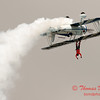 982 - Wingwalker Tony Kazian and Dave Dacy perform at Wings over Waukegan 2012