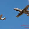 """794 - Vlado Lenoch in his P-51 Mustang and A-10 East in the """"Heritage Flight"""" at Wings over Waukegan 2012"""