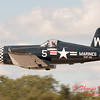 1095 - F4U Corsair departs Wings over Waukegan 2012