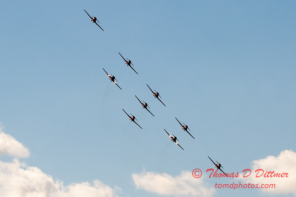 1712 - The RCAF Snowbirds performance at Wings over Waukegan 2012