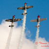 320 - Team Aerostar in Yakovlev Yak-52's perform at Wings over Waukegan 2012