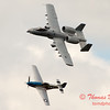 """770 - Vlado Lenoch in his P-51 Mustang and A-10 East in the """"Heritage Flight"""" at Wings over Waukegan 2012"""