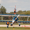 1062 - Wingwalker Tony Kazian and Dave Dacy perform at Wings over Waukegan 2012