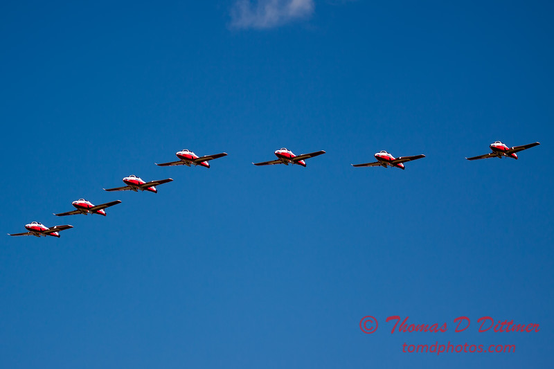 1582 - The RCAF Snowbirds performance at Wings over Waukegan 2012