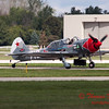 474 - Team Aerostar in Yakovlev Yak-52's perform at Wings over Waukegan 2012
