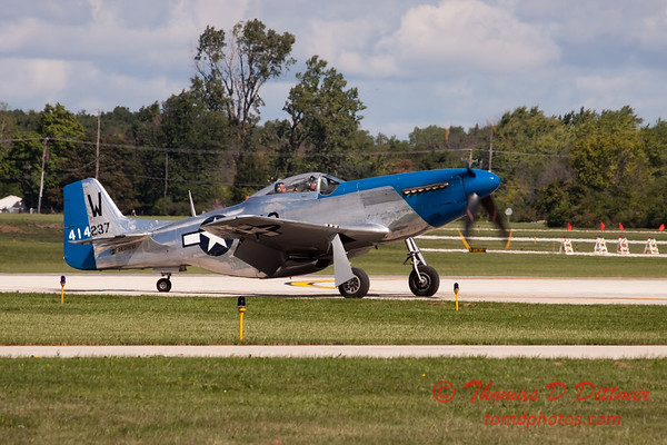 "53 - Vlado Lenoch and his P-51 Mustang ""Moonbeam McSwine"" at Wings over Waukegan 2012"