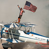 1077 - Wingwalker Tony Kazian and Dave Dacy perform at Wings over Waukegan 2012