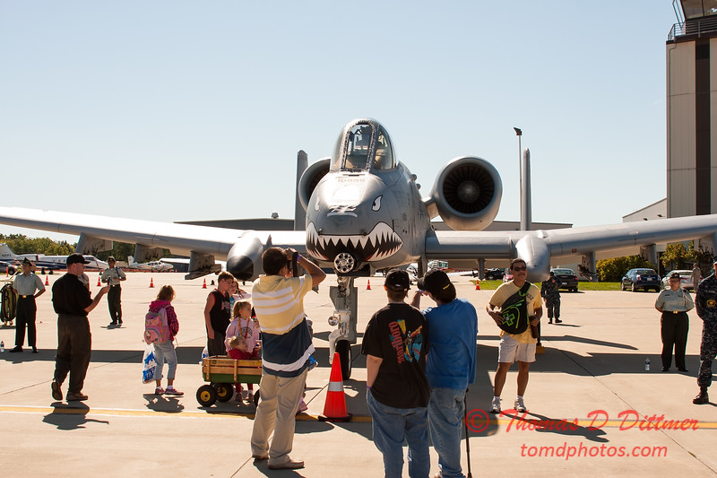 11 - A-10 East - A-10 Thunderbolt II (Warthog) on display at Wings over Waukegan 2012
