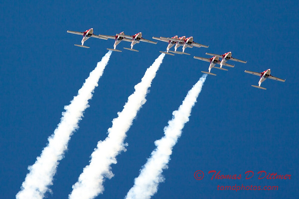 1347 - The RCAF Snowbirds performance at Wings over Waukegan 2012