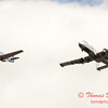 """792 - Vlado Lenoch in his P-51 Mustang and A-10 East in the """"Heritage Flight"""" at Wings over Waukegan 2012"""