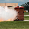 """493 - Paul Stender and the Indy Boys Mobile Out House bring new meaning to """"Hot Gas"""" at Wings over Waukegan 2012"""