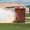 """492 - Paul Stender and the Indy Boys Mobile Out House bring new meaning to """"Hot Gas"""" at Wings over Waukegan 2012"""