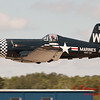 1093 - F4U Corsair departs Wings over Waukegan 2012