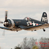 1088 - F4U Corsair departs Wings over Waukegan 2012