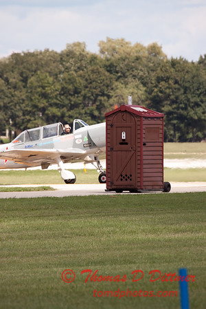 """481 - Paul Stender and the Indy Boys Mobile Out House bring new meaning to """"Hot Gas"""" at Wings over Waukegan 2012"""