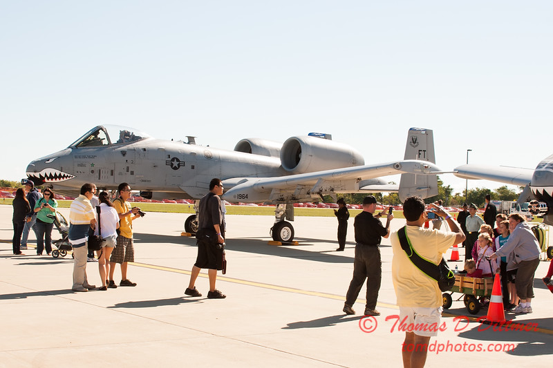 9 - A-10 East - A-10 Thunderbolt II (Warthog) on display at Wings over Waukegan 2012