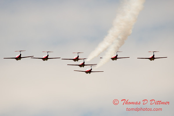 1663 - The RCAF Snowbirds performance at Wings over Waukegan 2012