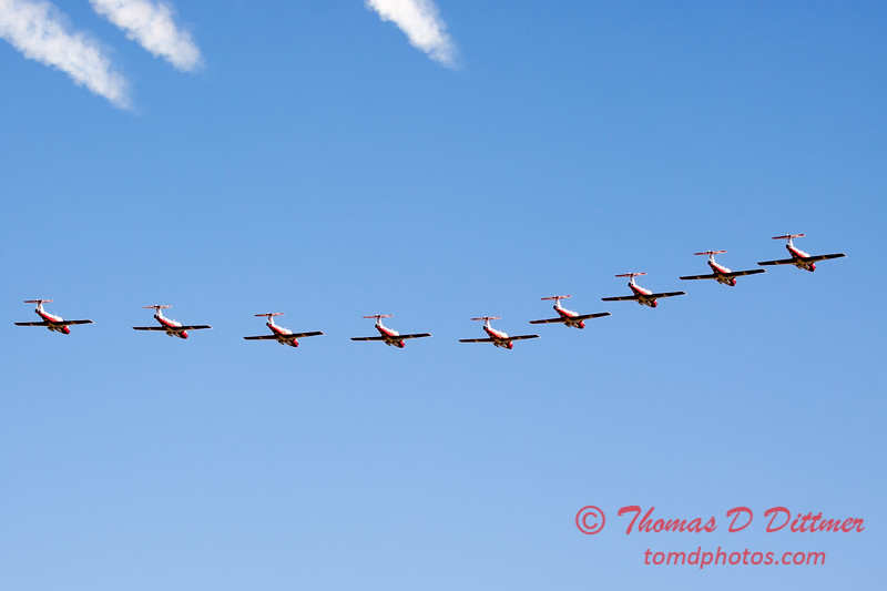 1767 - The RCAF Snowbirds performance at Wings over Waukegan 2012