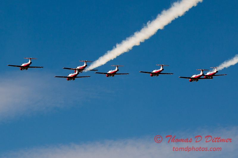 1635 - The RCAF Snowbirds performance at Wings over Waukegan 2012