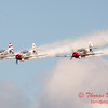 356 - Team Aerostar in Yakovlev Yak-52's perform at Wings over Waukegan 2012