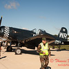 18 - Voight F4U Corsair on display at Wings over Waukegan 2012