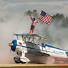 1075 - Wingwalker Tony Kazian and Dave Dacy perform at Wings over Waukegan 2012