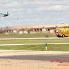 "916 - The ""RACE"" is on! Paul Stender and the Indy Boys School bus against Vlado Lenoch and his P-51 at Wings over Waukegan 2012"
