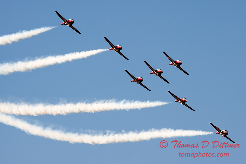1706 - The RCAF Snowbirds performance at Wings over Waukegan 2012