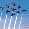 1740 - The RCAF Snowbirds performance at Wings over Waukegan 2012