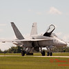 1295 - VFA 106 Hornet East F/A-18 returns to earth after performing at Wings over Waukegan 2012