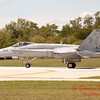 1332 - The VFA 106 Hornet East F/A-18 has landed and will be returning to parking at Wings over Waukegan 2012