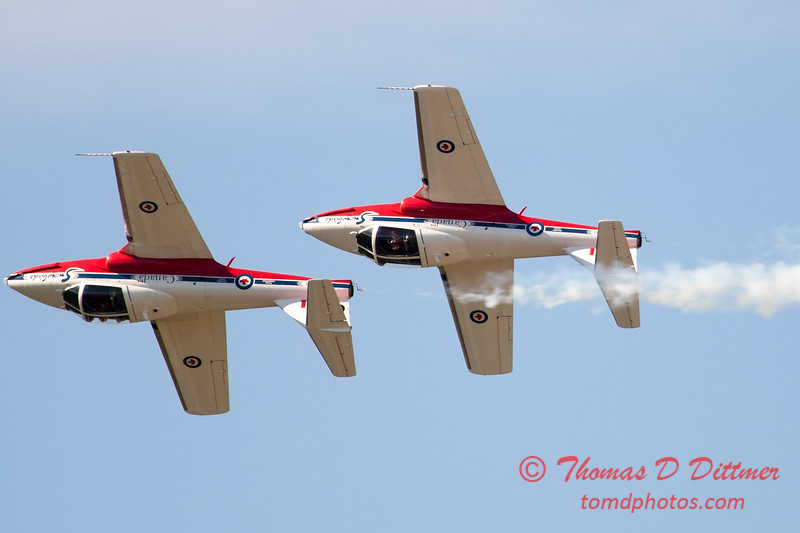 1575 - The RCAF Snowbirds performance at Wings over Waukegan 2012