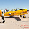 1 - RCAF T6 Harvard on display at Wings over Waukegan 2012