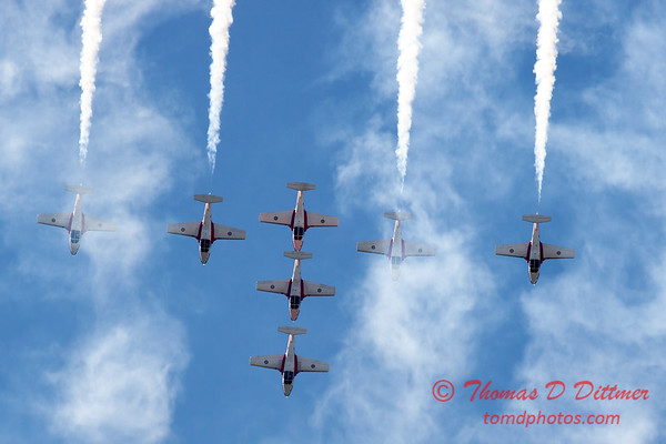 1691 - The RCAF Snowbirds performance at Wings over Waukegan 2012