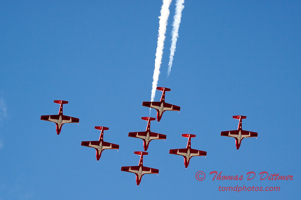 1657 - The RCAF Snowbirds performance at Wings over Waukegan 2012
