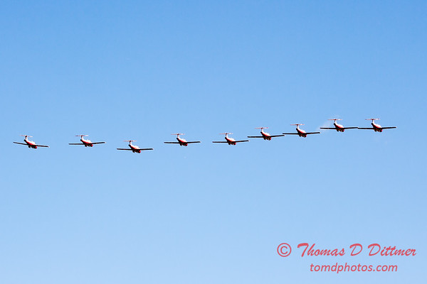 1769 - The RCAF Snowbirds performance at Wings over Waukegan 2012
