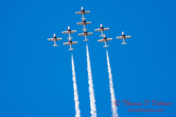 1406 - The RCAF Snowbirds performance at Wings over Waukegan 2012
