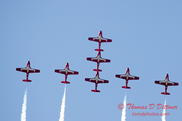 1683 - The RCAF Snowbirds performance at Wings over Waukegan 2012