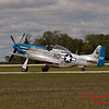 625 - Vlado Lenoch in his P-51 Mustang taxies for departure at Wings over Waukegan 2012
