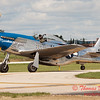 610 - Vlado Lenoch in his P-51 Mustang taxies for departure at Wings over Waukegan 2012