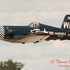1091 - F4U Corsair departs Wings over Waukegan 2012