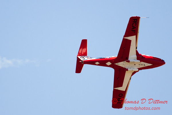 1444 - The RCAF Snowbirds performance at Wings over Waukegan 2012