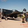 17 - Voight F4U Corsair on display at Wings over Waukegan 2012